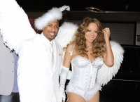 Mariah Carey es un imperfect angel en Halloween