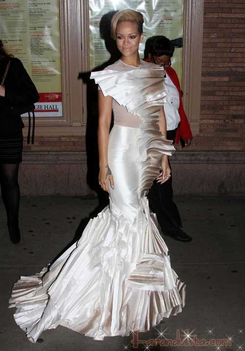 Rihanna en el Glamour Magazine 2009 Women of The Year Awards