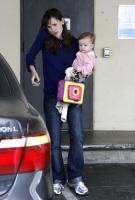 Aww... Jennifer Garner y su baby Seraphina