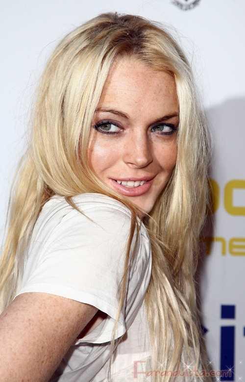 Lindsay Lohan casi desnuda y en un trio para Purple magazine