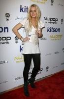 Lindsay Lohan en la NU POP Movement Party en West Hollywood