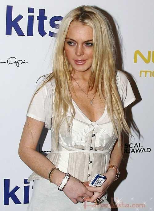 Lindsay Lohan vuelve al mundo de la moda con bebe/Mouawad