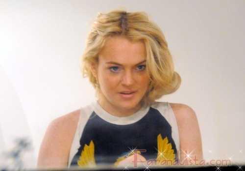 Uh, oh! Lindsay no tan rapido... La 'coleccion' para bebe, no es cierto