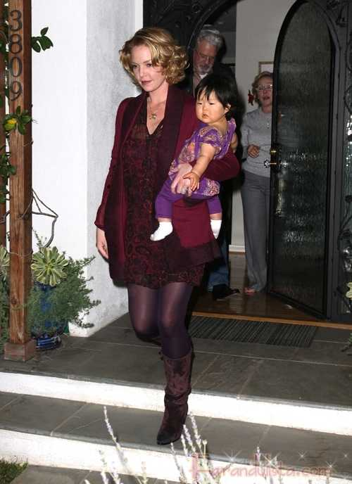 Katherine Heigl y su hija Nancy Leigh