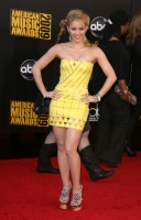 Shakira de Amarillo en los American Music Awards 2009