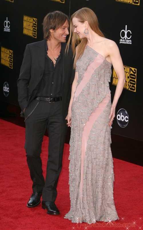 Nicole Kidman en los American Music Awards 2009