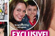 Angelina Jolie adoptando sin Brad? OK!