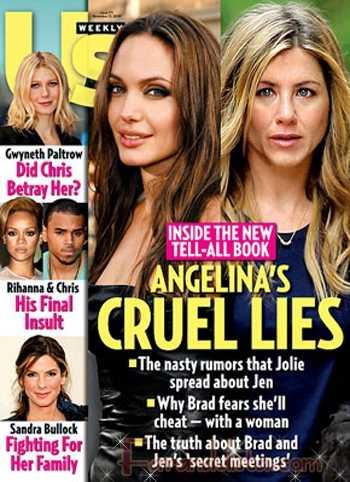 Las Mentiras Crueles de Angelina - Us magazine