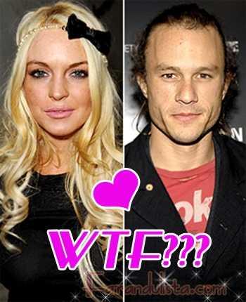 OMG! Lindsay estaba saliendo secretamente con Heath Ledger???