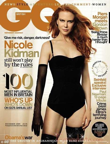 Nicole Kidman necesita publicidad - GQ