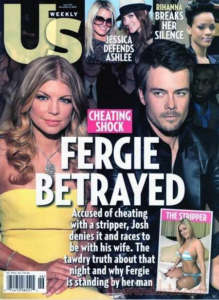 Fergie y Josh Duhamel son los protagonistas de esta semana