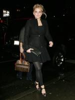 Jessica Simpson sonriente en New York City