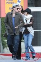 Nicole Richie y Joel Madden relax en Navidad