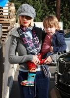 Christina Aguilera y su hijo Max van a Petco