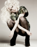 Lady Gaga en Elle Magazine Enero 2010