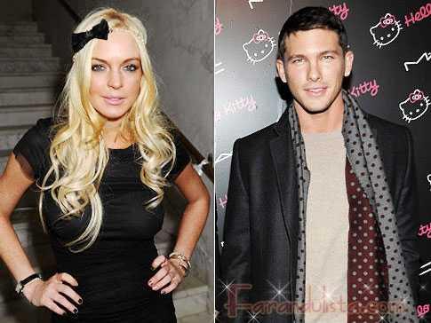 Lindsay Lohan y el modelo de Gucci Adam Senn van en serio