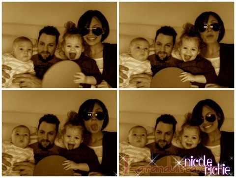 La fotografia familiar de Nicole Richie Gossip Gossip!