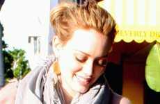 Hilary Duff comprando a ultima hora