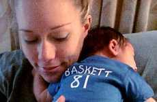 Kendra Wilkinson muestra otra foto de su hijo