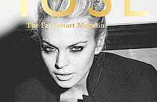 Lindsay Lohan en Muse magazine Enero 2010