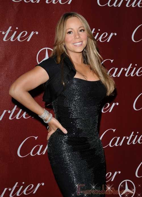 Mariah Carey ebria en el Palm Springs Film Festival [VIDEO] - Gossip Gossip!