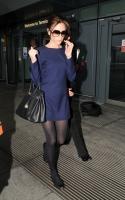 Victoria Beckham usa zapatos bajos... sin tacón!