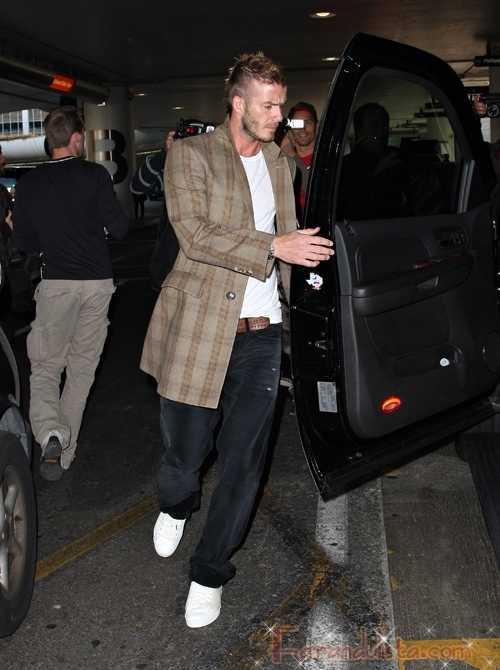 A David Beckham casi le agarraron su cosita - VIDEO!