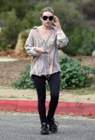 Ashley Olsen quemando calorias con su novio Justin Bartha