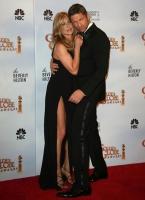 Jennifer Aniston y Gerard Butler son pareja en los Golden Globes