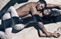 Eva Mendes para Calvin Klein