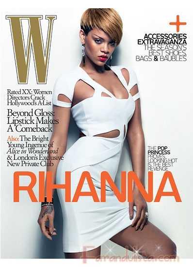 Rihanna en W magazine [Febrero 2010]