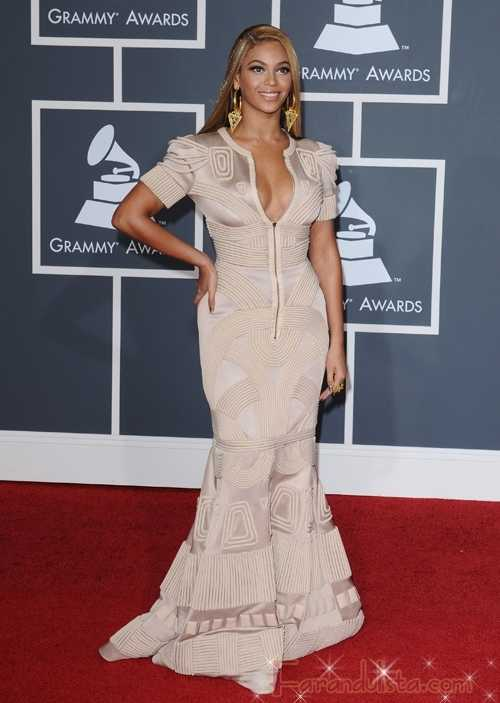 Beyonce en los Grammy 2010 - Red Carpet