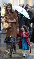 Katie Holmes y Suri Cruise aman la nieve en New York
