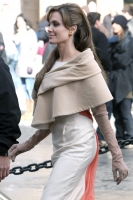 Angelina Jolie en el set de The Tourist