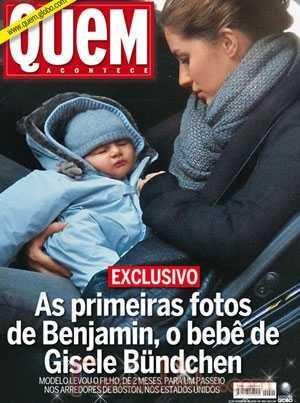 Conozcan a Benjamin el hijo de Gisele Bundchen - Gossip Gossip!!