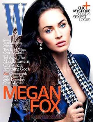 Megan Fox en W magazine: no luzco elegante en ropa interior