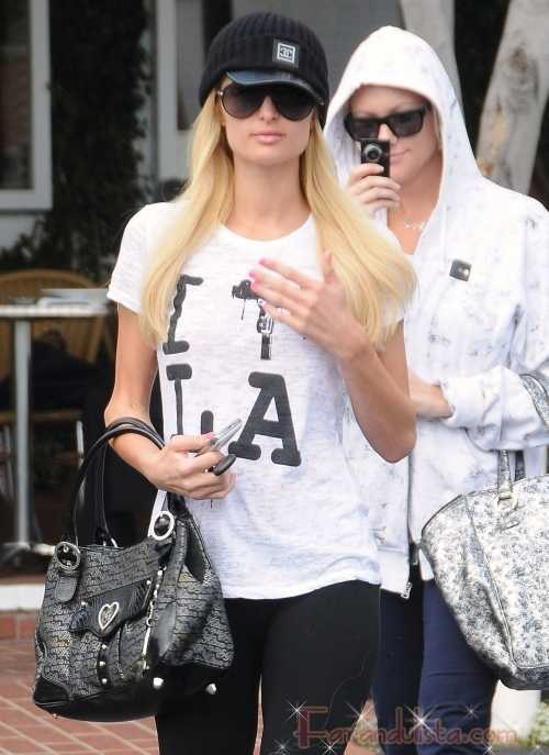 Paris Hilton de compras en Fred Segal