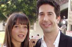 David Schwimmer comprometido con Zoe Buckman