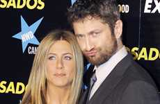 Jennifer Aniston y Gerard Butler en la Premier The Bounty Hunter en Madrid