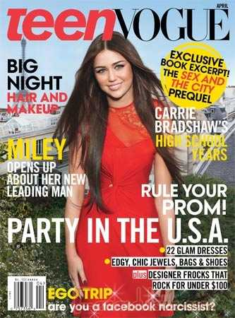 Miley Cyrus y Liam Hemsworth en Teen Vogue magazine - Abril 2010