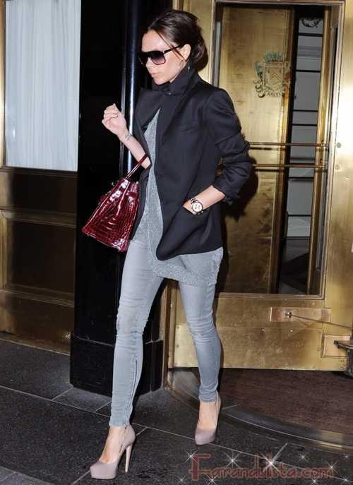 Victoria Beckham niega visita de la cigueña - Gossip Gossip!