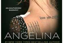 Preview: portada de la biografia no autorizada de Angelina Jolie