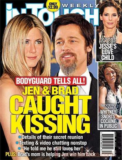 Jennifer Aniston entre Brad Pitt y Gerard Butler - Segun los tabloides