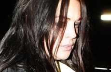 Lindsay Lohan cada vez peor: le lanza un vaso a Samantha