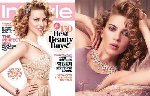 Scarlett Johansson en InStyle magazine