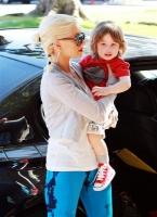 Christina Aguilera con Baby Max disfrutando el Memorial Day
