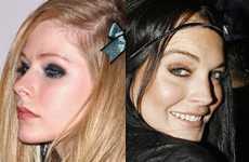 CATFIGHT!! Avril Lavigne y Lindsay Lohan se pelean en el Chateau!