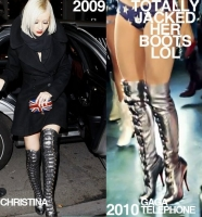 Christina Aguilera Vs Lady Gaga: Xtina es la ORIGINAL!!! FOTOS!