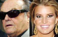 Jack Nicholson invita a Jessica Simpson a cenar? Nah!