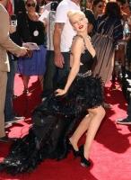 Christina Aguilera MTV Movie Awards 2010 - Red Carpet - Show